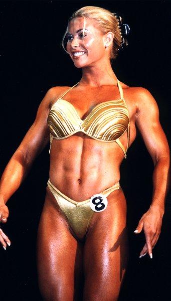 kvinnor naken bodybuilding